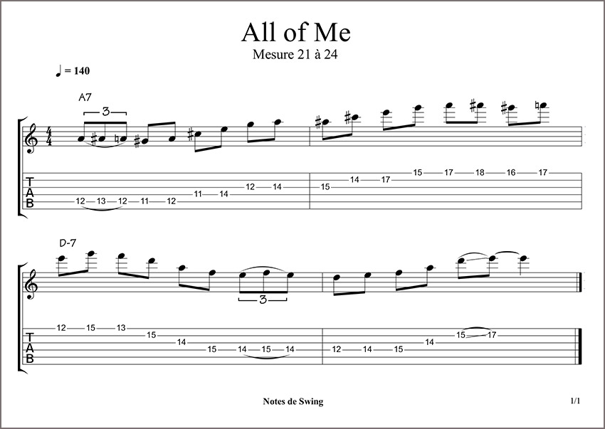 ALL OF ME MESURE 21 a 24