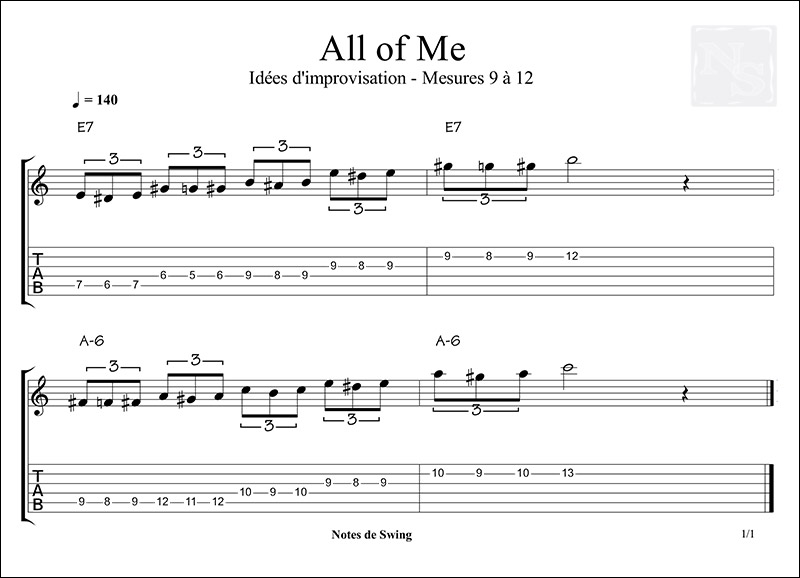 ALL OF ME MESURE 9 a 12 02